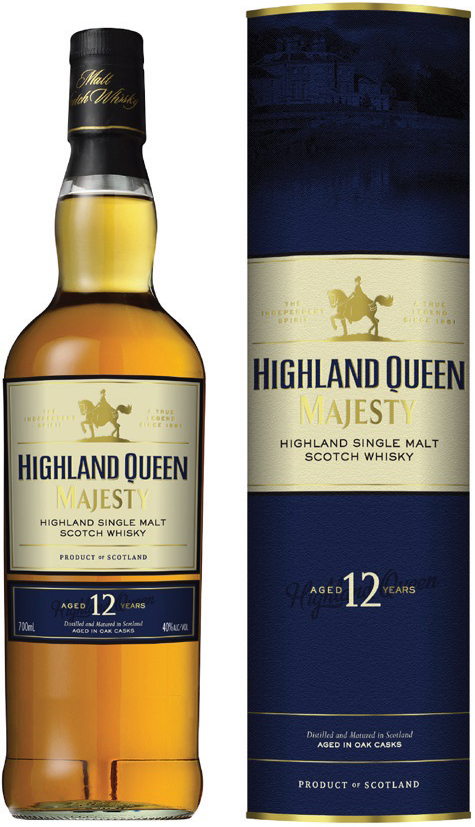 Highland Queen Majesty 12 YO Highland Single Malt