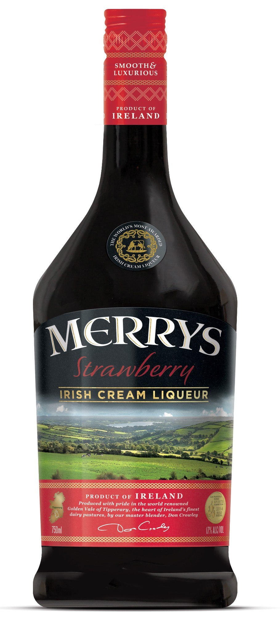 Merrys Strawberry Cream
