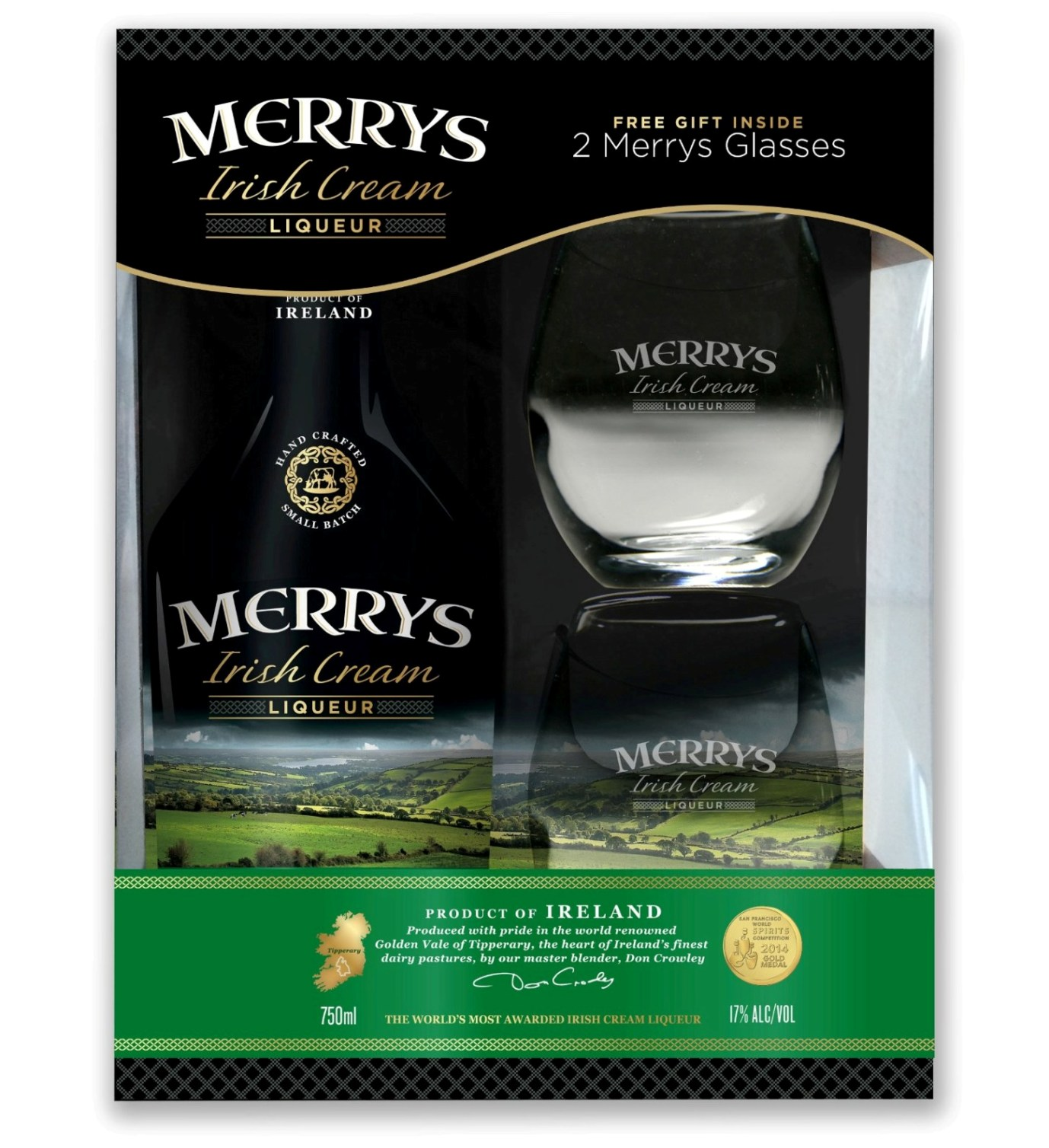 Merrys Irish Cream П/У 2 ст