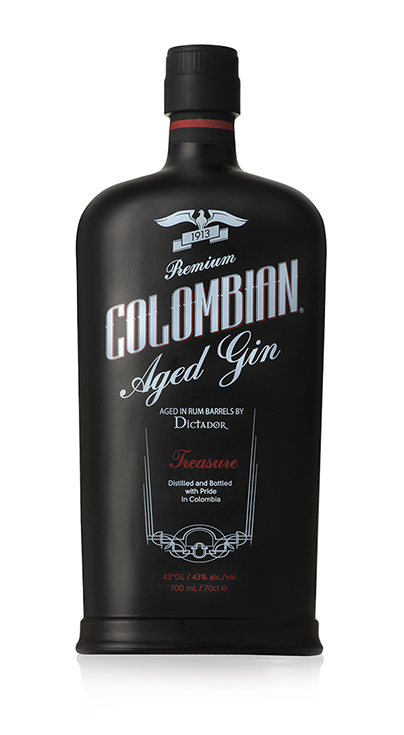 Premium Colombian Aged Gin Treasure